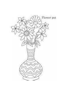 Ausmalbilder Blumenvase Ausmalbilder Blumenvasen21 Ausmalbilder Blumen