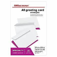 Office Depot Invitations Lined Amp Invitation Envelopes At Office Depot Officemax