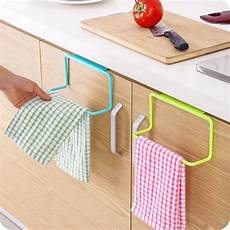 towel rack hanging holder kitchen cupboard cabinet door