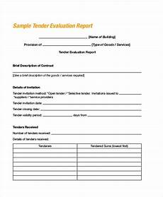 Sample Bidding Form Free 7 Bid Evaluation Forms In Ms Word Pdf