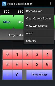 Farkle Point Chart Farkle Score Keeper Android Apps On Google Play
