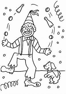 Malvorlagen Karneval Clown Malvorlagen Ausdrucken Comic