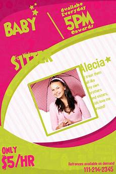 Babysitter Available Ads Customize 270 Babysitting Flyer Templates Postermywall