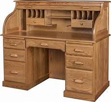 Best Desks 56 Inch Roll Top Desk With Hutch 56 Inch Solid Wood Roll