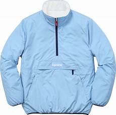 supreme jacket supreme f w 2015 reversible puffer jacket light blue small