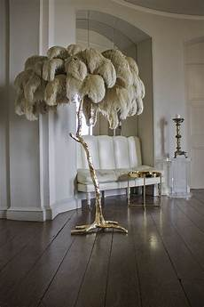 Feather Light Furniture Hollywood Regency Style Palm Tree Floor Lamp Hand Made In