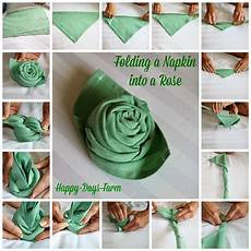Rose Folding 50 Attention Grabbing Napkin Folding Ideas That You Cannot