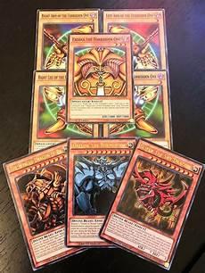 yugioh tcg exodia god cards obelisk slifer ra
