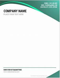 Letter Head Template Word 10 Best Company Letterhead Templates Word Microsoft Word