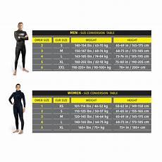 Omer Size Chart Omer 5mm Odino Jacket