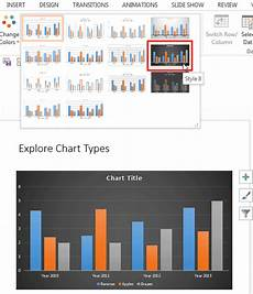 Style Chart Chart Styles In Powerpoint 2013 For Windows