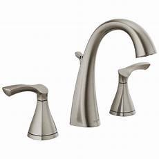 Kitchen Sink Faucets Lowes Delta Sandover Spotshield Brushed Nickel 2 Handle