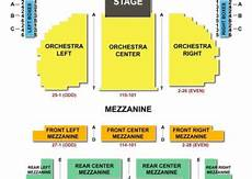 Seating Chart Eugene O Neill Theatre Eugene O Neill Theatre Seating Chart Seating Charts