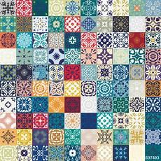 patchwork motif quot gorgeous floral patchwork design colorful moroccan or