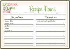 Word Template Recipe 44 Perfect Cookbook Templates Recipe Book Amp Recipe Cards