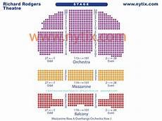 Richard Rodgers Theatre New York Ny Seating Chart Richard Rodgers Theatre On Broadway In Nyc