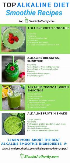 alkaline smoothie recipes and the overview of the alkaline