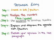 Pursasive Essay What Is A Persuasive Essay