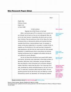 Cover Page For Mla Research Paper Example Mla Research Paper Free Download