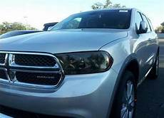 2013 Dodge Durango Light Covers 11 17 Dodge Durango Smoke Head Light Precut Tint Cover