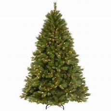Home Depot Trees With Lights National Tree Company 7 1 2 Ft Winchester Pine Hinged