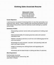 Objective For Resume Retail 23 Retail Sales Associate Resume Example In 2020 Free