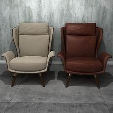 Individual Sofa 3d Image by 3d Single Person Sofa 2 Cgtrader