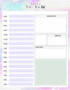 Daily To Do Checklist Printable Daily To Do List Template To Get Things Done