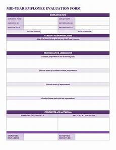 Employee Review Form Free Employee Performance Review Templates Smartsheet