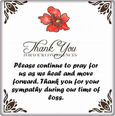 Condolences Thank Yous Thank You For Your Condolences Quotes And Notes Words Of