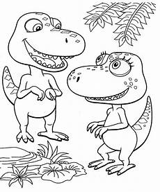 dino train coloring pages
