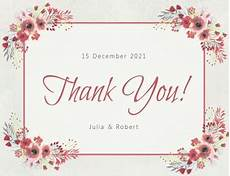 Thank You Page Template Free Download Create Free Thank You Greeting Cards Postermywall