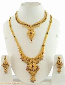 22k Gold Indian Jewellery Designs The Latest Images Of Gold Bridal Necklace Designs
