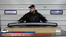 Auxbeam 52 Inch Curved Light Bar Auxbeam Curved 52 Inch 300 Watt Cree 4d Light Bar Review