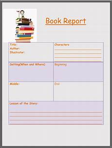 Book Report Book Report 10 Free Templates Guidlines To Format A