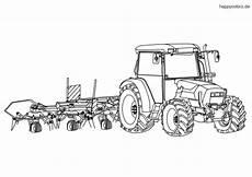 traktor malvorlage kostenlos 187 traktoren ausmalbilder