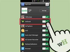 app android 3 ways to automatically lock android apps wikihow