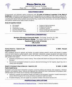 Resumes Samples For Nurses Sample Nurse Resume 9 Examples In Word Pdf