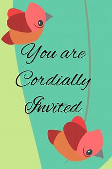 You Have Been Cordially Invited Template You Are Cordially Invited Template Postermywall