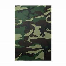 thai army green woodland camouflage fabric texture