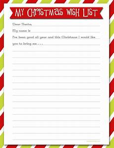 Christmas List Maker Printable Wish List For Christmas Simply Click On The Photo Above