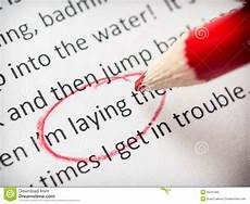 Paper Proofread Proofreading Essay Errors Stock Image Image Of Paper