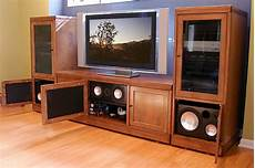 theater tech system four wall unit tt 400 tv stand and