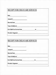 babysitting receipt template free 11 daycare receipt sles and templates in pdf word