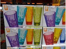 Wave Tumbler 8 Piece Drinkware Set