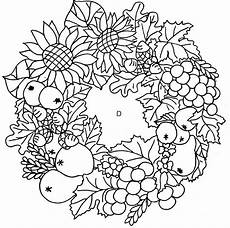 Ausmalbilder Herbst Mandala Kostenlos Herbst 03 Ausmalen Gratis Fruits And Vegetables