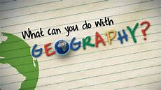 What Can You Do With An Mba What Can You Do With Geography Youtube