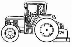 ausmalbilder traktor 3 ausmalbilder