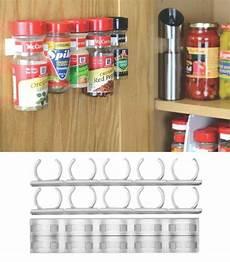 spice organizer rack 20 cabinet door bottles jars