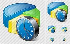 Artistic Pie Chart Pie Chart Clock Icon Vista Artistic Professional Stock